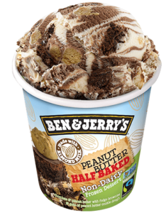Ben & Jerry's Non-Dairy Frozen Dessert - A guide with ingredients, customer reviews, and more info on this dairy-free ice cream line. All vegan too.