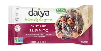 Daiya Frozen Burritos Are All Wrapped Up in 6 Allergy-Friendly Varieties - Review, Ratings, Ingredients and more info - new breakfast burritos too! All vegan, gluten-free, nut-free and soy-free.
