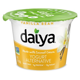 Daiya Coconut Cream Yogurt Alternatives Review and Information - ingredients, allergen info, user ratings and more for this dairy-free, gluten-free, nut-free, soy-free, vegan line of creamy yogurt alternatives