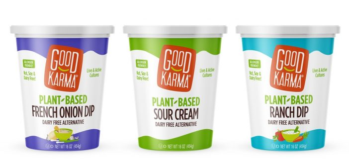 Good Karma Plant-Based Dips to Savor in Two Creamy Dairy-Free Flavors