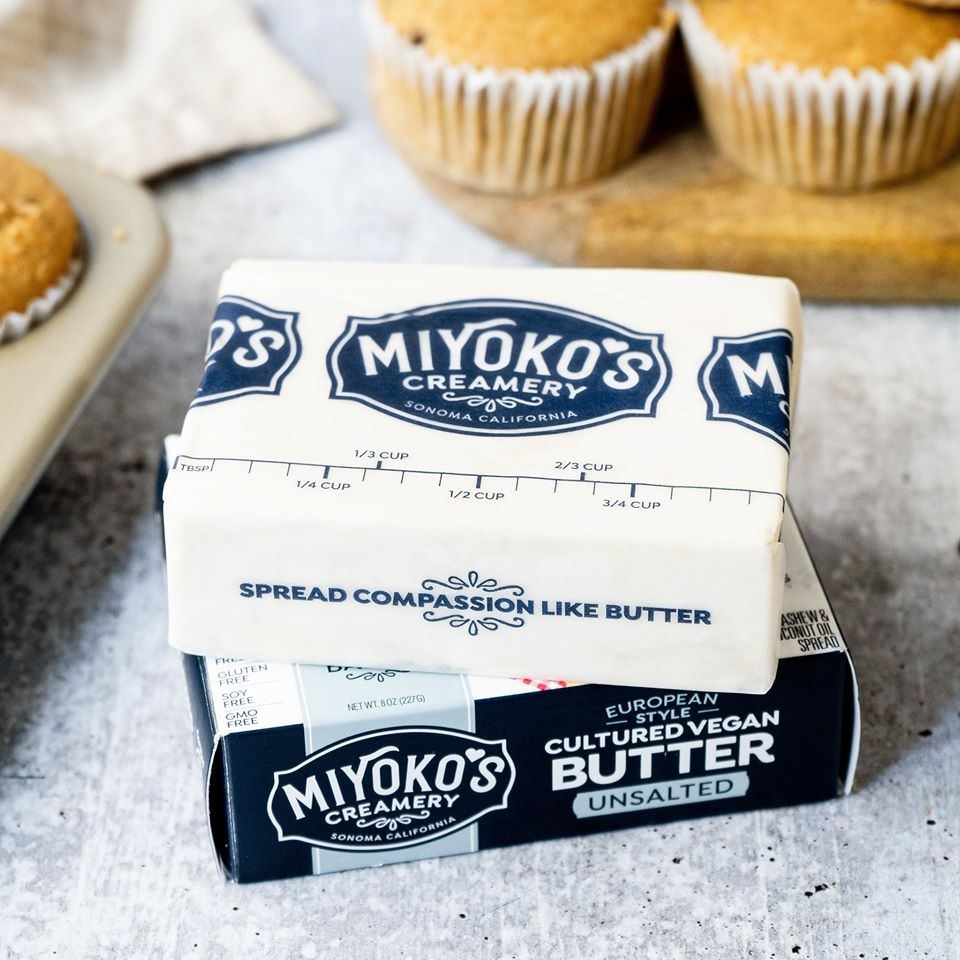 Miyoko's Vegan Butter Review and Info - Cultured European Style Dairy-Free Butter Alternative in Salted and Unsalted