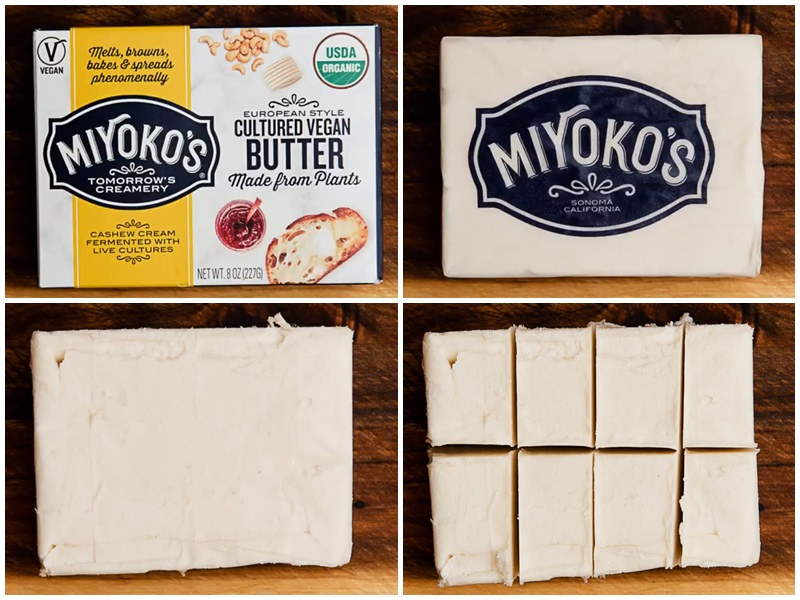 Miyoko's Vegan Butter is on the Cultured Side of Plant-Based Alternatives (Review with Ingredients, Allergen Info, Ratings, and More!) - vegan, dairy-free, gluten-free, soy-free