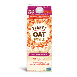 Planet Oat Milk Reviews and Info - Now in 5 varieties, all dairy-free and vegan.