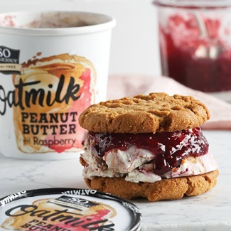 So Delicious Oatmilk Frozen Dessert - Dairy-Free Ice Cream in New Cool, Creamy Flavors (vegan, gluten-free, nut-free, soy-free) - includes ingredients, allergen details, more product info and user reviews!