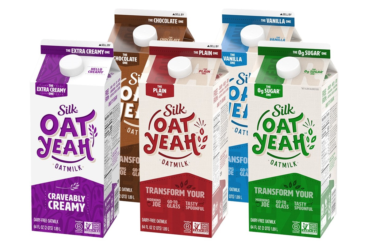 Silk Oat Yeah Oatmilk Review with Ingredients, Allergen Info an More. Plus, leave your own rating! Dairy-free, plant-based, nut-free, and soy-free.