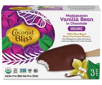 Coconut Bliss Ice Cream Bars Review and Full Information (Ingredients, Allergen Info, Ratings and More) - 8 Flavors, 4 Covered in Dairy-Free Chocolate! All Vegan, Gluten-Free, Soy-Free