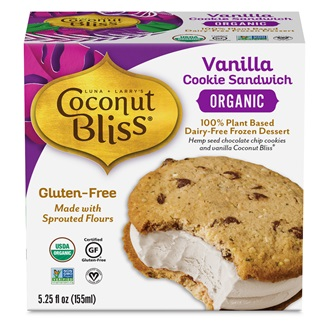 Coconut Bliss Cookie Sandwiches Review and Information - Vegan, Gluten-free, and Organic!