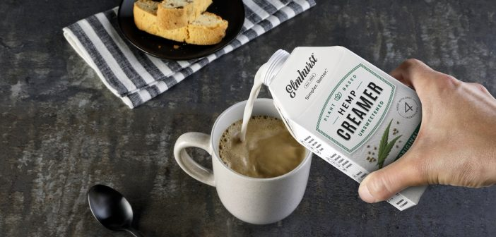 Elmhurst Hemp Creamer Promises Dairy-Free Purity to Perk You Up