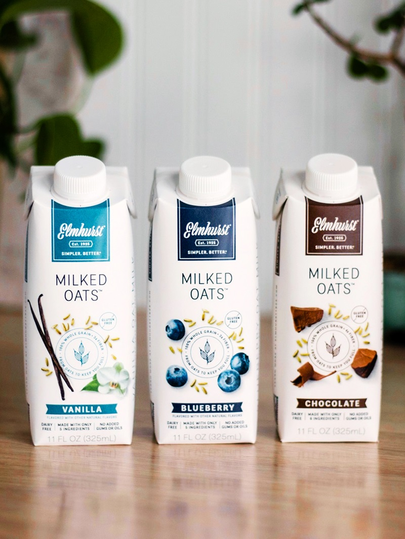 Elmhurst Milked Oats Reviews & Information - several flavors + single serve sizing. We have the ingredients, availability, allergen info, and more (dairy-free, vegan, and allergy-friendly)