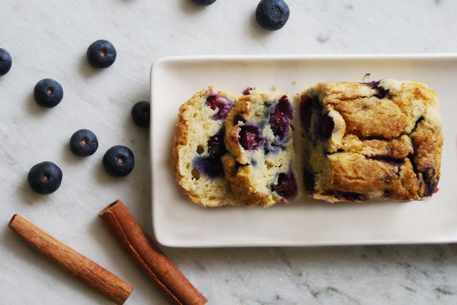 Dairy-Free Gluten-Free Blueberry Pancake Bread Recipe that will Inspire Little Chefs + a Gluten-Free, Allergy-Friendly Baking Club for Kids
