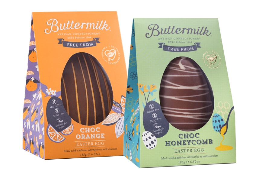 Dairy-Free Easter Chocolate in Australia, the UK and the rest of Europe - most options are vegan and gluten-free, some soy-free and nut-free, too! Pictured: Buttermilk Chocolate