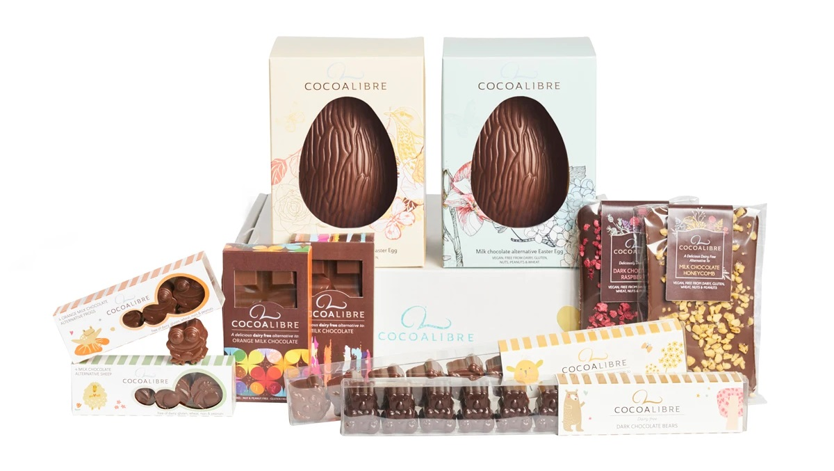 Dairy-Free Easter Chocolate in Australia, the UK and the rest of Europe - most options are vegan and gluten-free, some soy-free and nut-free, too! Pictured: Cocoa Libre