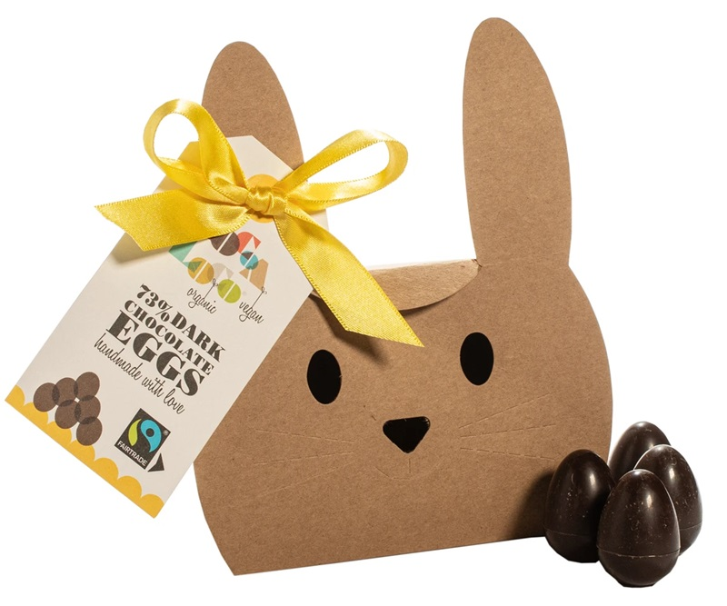 Dairy-Free Easter Chocolate in Australia, the UK and the rest of Europe - most options are vegan and gluten-free, some soy-free and nut-free, too! Pictured: Cocoa Loco