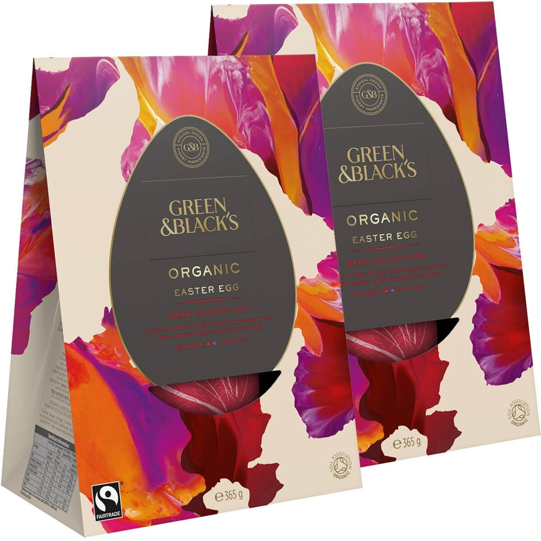 Dairy-Free Easter Chocolate in Australia, the UK and the rest of Europe - most options are vegan and gluten-free, some soy-free and nut-free, too! Pictured: Green & Blacks