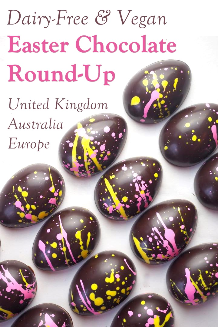 Dairy-Free Easter Chocolate in Australia, the UK and the rest of Europe - most options are vegan and gluten-free, some soy-free and nut-free, too! Pictured: Treat Dreams