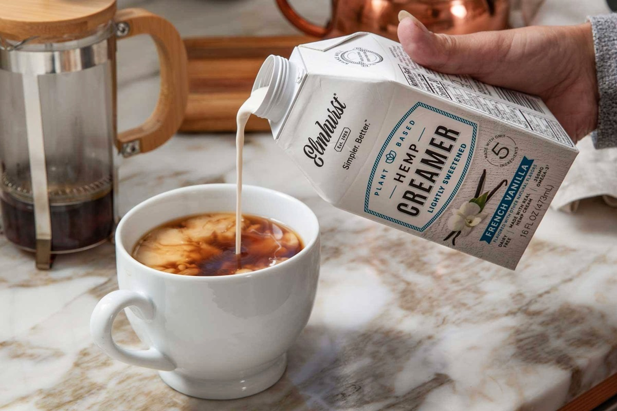 Elmhurst Hemp Creamer Review - Dairy-free, vegan, paleo-friendly, and allergy-friendly - made with just 4 ingredients! We have all the details, including ingredients, allergen info and availability
