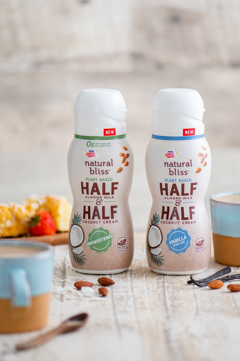 Natural Bliss Plant Based Half and Half - dairy-free creamer in unsweetened and vanilla from coffeemate. We have ingredients, ratings, and more info.