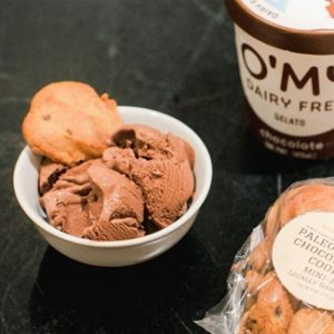 O'My Dairy-Free Gelato Keeps its Cool with 6 Simply Creamy Flavors - all vegan and allergy-friendly. Just 5 to 8 ingredients each.