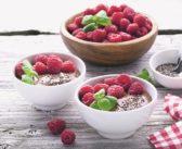 Chocolate, Chia, Raspberry & Acai Smoothie Bowl with Superfood Powers
