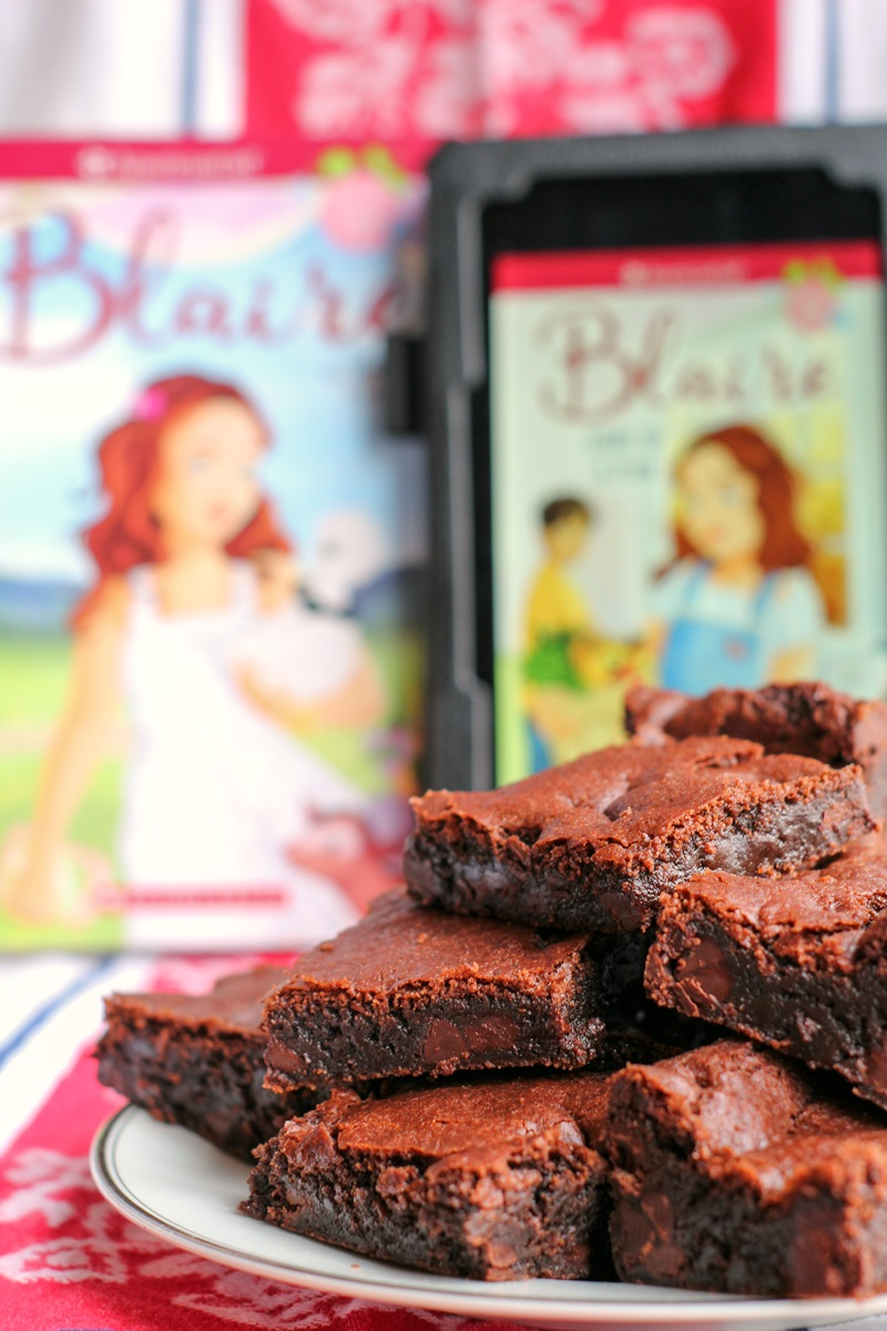 American Girl Dairy-Free and Vegan Chocolate Chip Brownies