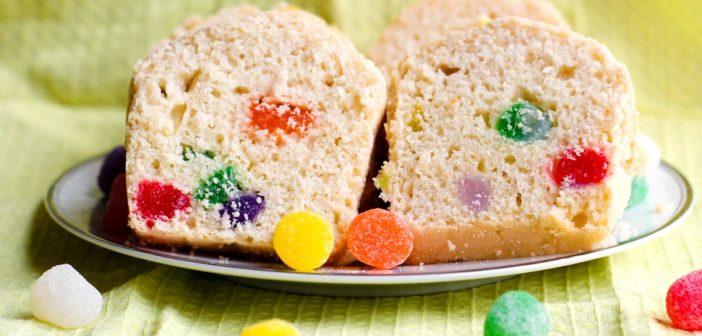 Gumdrop Bread Mini Loaves for Dairy-Free, Nut-Free & Vegan Treats
