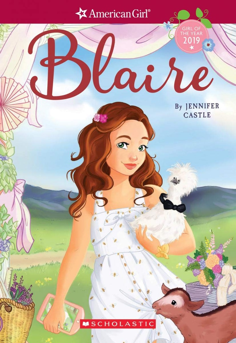 American Girl Blaire (Book One; Confronting Lactose Intolerance) - A Milk Allergy Mom and Daughter Review
