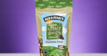 Ben & Jerry's Vegan Cookie Dough Chunks are Finally Rolling Out - we have the ingredients, nutrition, allergen, and more info + ratings for these egg-free, dairy-free bites