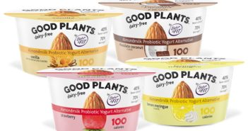 Good Plants Dairy-Free Almondmilk Yogurt is also a Low-Sugar Alternative - Review and Information for this vegan, probiotic yogurt brand in 4 flavors