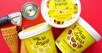 Hakuna Banana Frozen Dessert Monkeys Around with Vegan Nice Cream - Review and information on this Dairy-Free Ice Cream Brand in Six Flavors (ingredients, nutrition, and more)