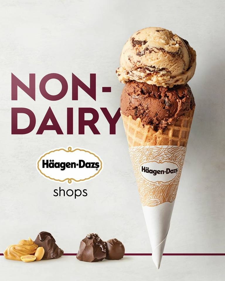 Dairy-free Options at Haagen Dazs Ice Cream Shops