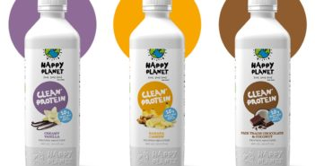 Happy Planet Clean Protein Smoothies - Review and Information for all 3 dairy-free flavors