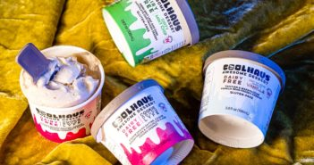 Coolhaus Dairy Free Ice Cream Review and Information - 6 Vegan Flavors, and we have the ingredients, allergen info, availability, ratings, and more! Pictured: Mini Cups