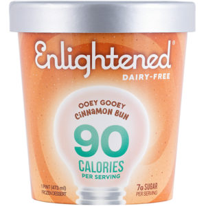 Enlightened Dairy-Free Frozen Dessert Review - 7 Pint Flavors, all low calorie, vegan and low sugar