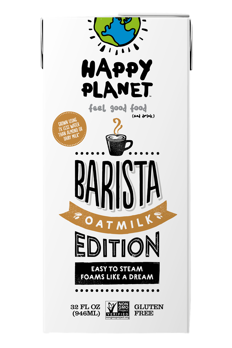 Happy Planet Barista Edition Oatmilk Review and Information (Dairy-Free, Vegan and Allergy-Friendly Coffee Creamer that Steams and Foams)