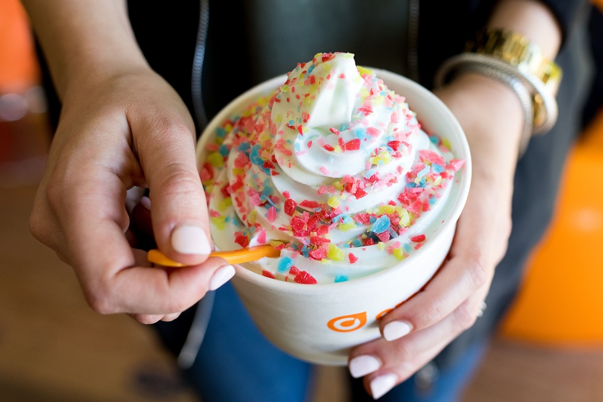Dairy-Free Menu Guide to Orange Leaf Frozen Yogurt Shops