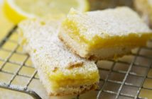 Dairy-Free Lemon Bars Recipe - the classic version with a zesty twist! (gluten-free optional)