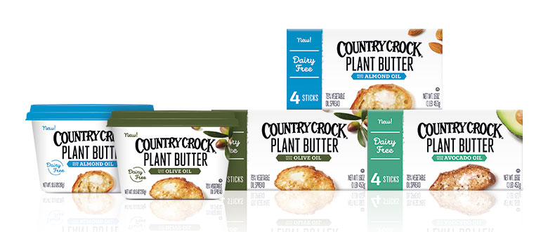 Country Crock Plant Butter Sticks Review - Dairy-free, vegan, and sold in 2 varieties