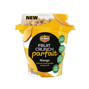 Del Monte Fruit Crunch Parfaits with Dairy-Free Coconut Creme - 4 flavors - ratings, reviews, ingredients, and more info!