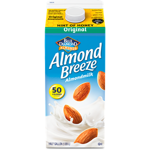 Almond Breeze Almond Milk Review and Information - ingredients, allergen info, ratings and more for all varieties (more than a dozen!)