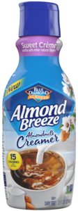 Almond Breeze Almond Creamer in newer Sweet Creme