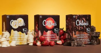 Chloe's Dipped Bars Review and Info - Dark Chocolate Covered Fruit Soft Serve Bars - dairy-free, vegan, and allergy-friendly