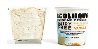Coolhaus Dairy Free Ice Cream Review and Information - 6 Vegan Flavors, and we have the ingredients, allergen info, availability, ratings, and more! Pictured: Vanilla Bean