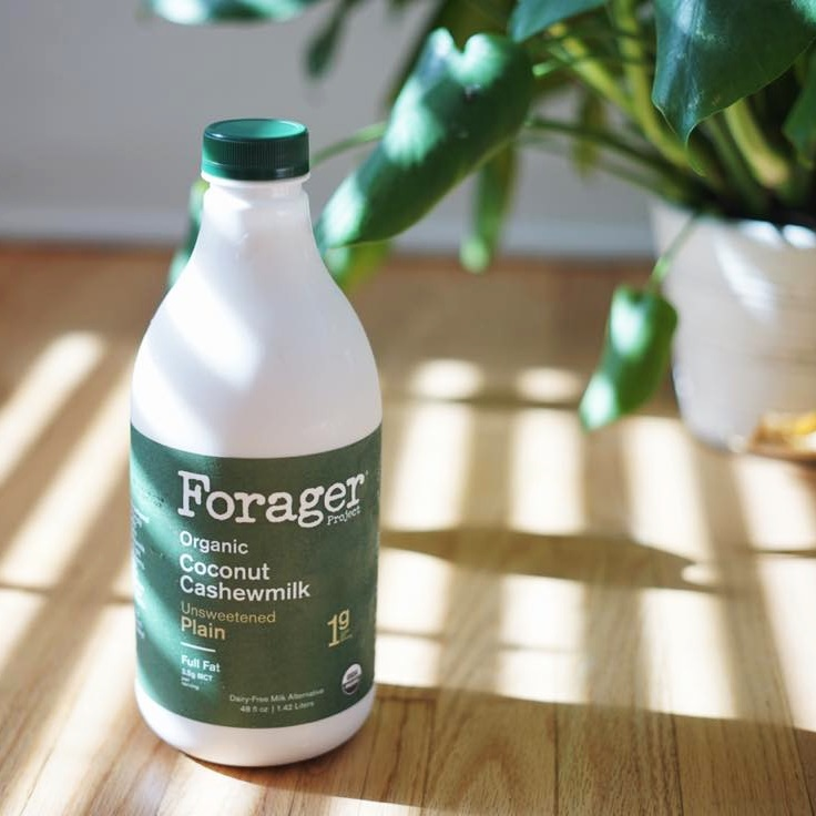 Forager Project Coconut Cashewmilk Review and Information - pure, clean, organic ingredients with a consistency as rich as whole milk. We have all the details on this dairy-free, gluten-free, soy-free, vegan product line ...