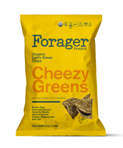 Forager Project Vegetable Chips Lend Crunch to Leafy Greens - Dairy-free, gluten-free, vegan, and corn-free! Review and info ...