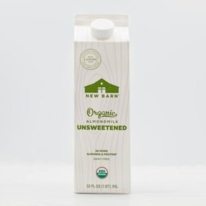 New Barn Organic Almondmilk Reviews and Info - Unsweetened
