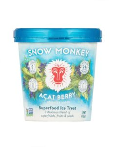 Snow Monkey Superfood Ice Treat is Bananas for Dairy-Free Ice Cream - Review and Info for these healthy, dairy-free, vegan, paleo, allergy-friendly pints.