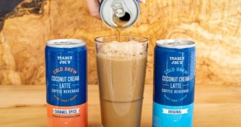 Trader Joe's Cold Brew Coconut Cream Lattes Review and Info - Available in 2 dairy-free flavors (vegan too!). We have ingredients, ratings, and more