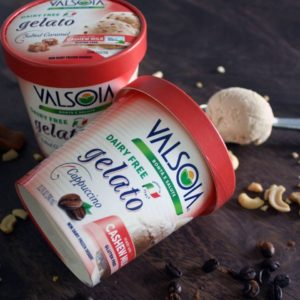 Valsoia Gelato Review & Information - All Dairy-Free and Vegan, and Now Available in the U.S.! Several flavors - we have the ingredients, allergen info, and more.