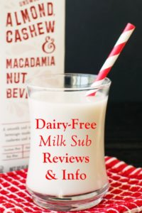 Dairy-Free Milk Substitute Reviews - Ratings, Ingredients, Availability and More Info for all of the brands! Vegan and gluten-free too.