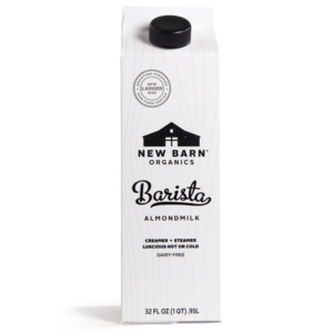 New Barn Barista Almondmilk Review and Information - dairy-free, vegan, and soy-free